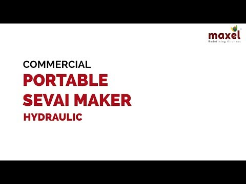 LEP878 Commercial Hydraulic Portable Sevai Maker