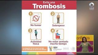 Diálogos en confianza (Salud) - ¿Qué es la trombosis y cómo prevenirla?