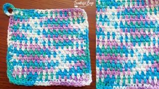 My Favorite Crochet Dishcloth