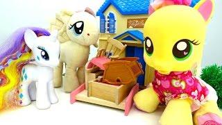 Видео с игрушками. Детский канал. Игры с Май Литл Пони. 🌼 Волшебный сон #пони Рарити 🌼.