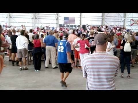 Inside The Trump Florida Rally