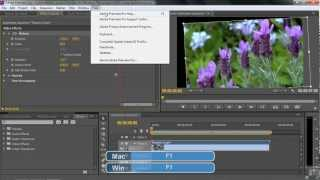 Adobe Premiere Pro CS6 Tutorial | Using Keyframes | Infiniteskills