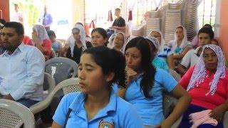 Iglesia El Buen Pastor, Morazan  Predicando Pastor Amabilex Rodriguez