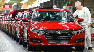 Honda ACCORD Manufacturing – Honda ACCORD Production And Assembly