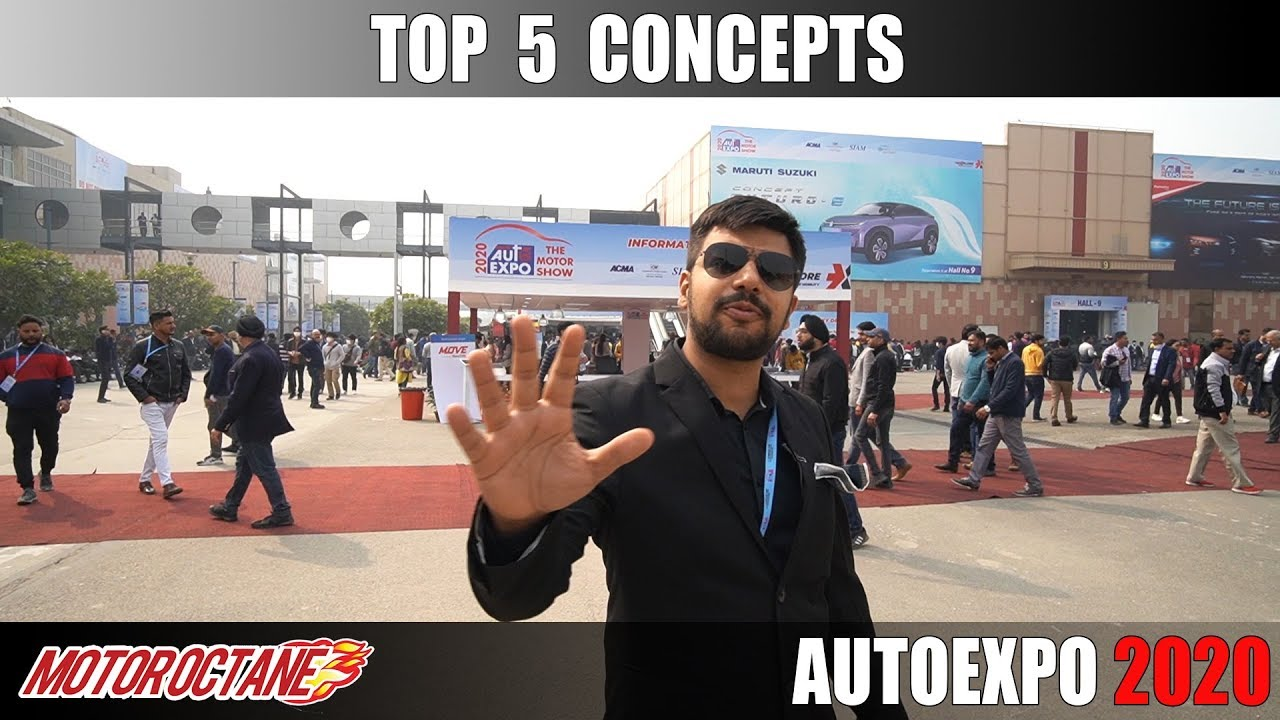 Motoroctane Youtube Video - Top 5 Concept Cars | Auto Expo 2020 | Hindi | Motoroctane