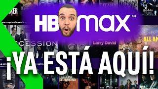 HBO MAX: PRIMERAS IMPRESIONES | CONTENIDO, DISEÑO y OFERTAS COMO NUNCA ANTES