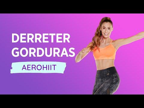 Aula de Ginástica - Derreta Gorduras com 20 min de AeroHiiT
