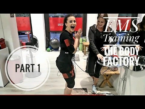 I TRIED EMS TRAINING AT THE BODY FACTORY!! (part 1)