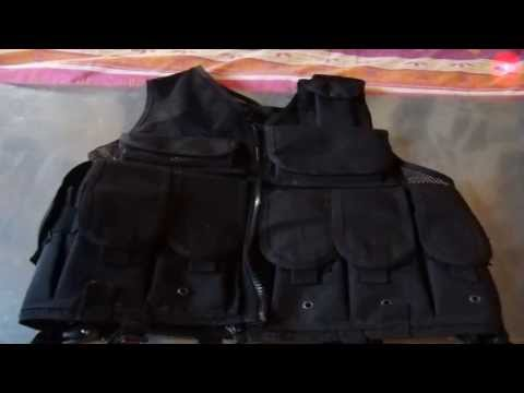 Review Gilet Tactique Paintball