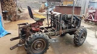 Самодельный трактор 4х4. Навеска
