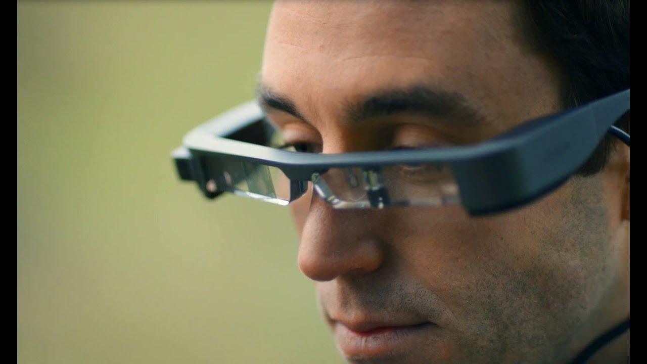 Epson Moverio BT-300 - видео очки дополненной реальности купить