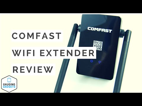 Comfast WiFi Range Extender Review – 300Mbps Wireless-N Repeater
