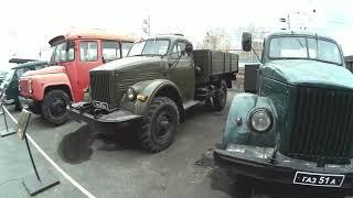 Новосибирский музей паровозов 21 апреля 2019 Часть 2 Автомобили