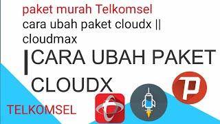 Config Conference dan paket CloudX Untuk Mengubah Kouta CloudX  Menjadi Kouta reguler di kartu telkomsel