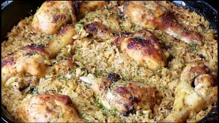 Easy One Pan Chicken And Rice