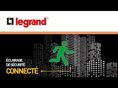 Découvrez les BAES SATI connecté Legrand, le premier éclairage de sécurité connecté du marché
