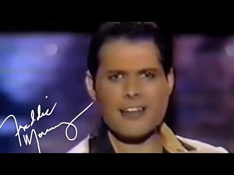 Freddie Mercury - The Great Pretender (Gegen Willi Show 1987)