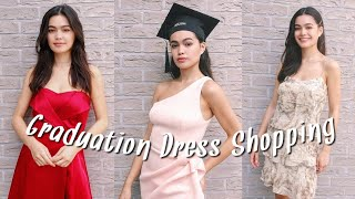 High School Graduation Dress Ideas + Shopping Vlog | What To Wear To Graduation