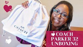 Coach Parker Top Handle Bag Unboxing | @helloannanicole
