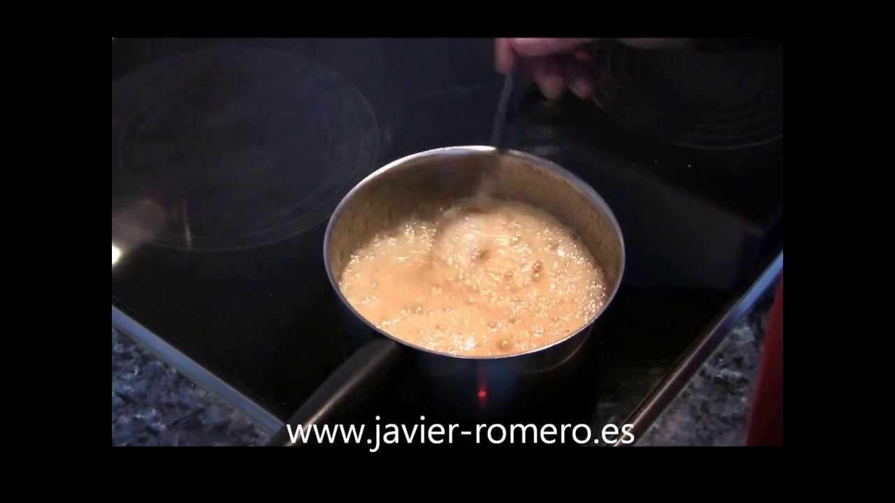 Como hacer caramelo casero | Javier Romero
