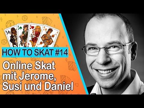 How to Skat #14: Skat online spielen mit Jerome, Susi und Daniel