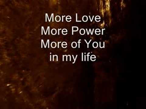 More Love, More Power (2)