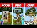 Minecraft NOOB vs PRO vs GOD Modern Tre