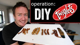 Operation Homemade Twiglets | Barry tries #29