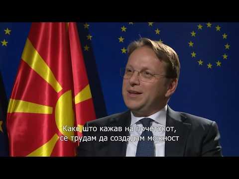 Interview with Olivér Várhelyi