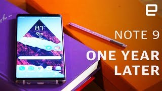 Samsung Galaxy Note9: One Year Later