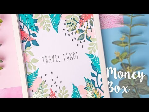 DIY Travel Money Box with Yasmin Rowlands