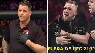 McGregor SANCIONADO y fuera de UFC 219?; Ex Campeón de la WWE se pasa a las MMA