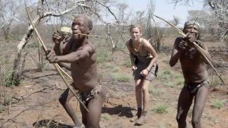 THE MODEL AND THE BUSHMEN - Behind the Scenes