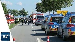 preview picture of video 'Tödlicher Unfall bei Wörrstadt'