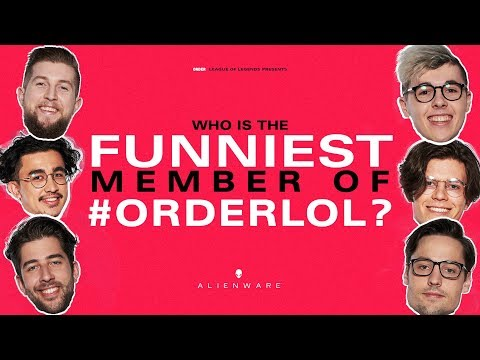 Who Is The Funniest Person On The Team? | #ORDERLOL