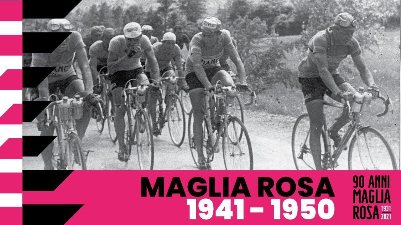 90Anni Maglia Rosa: 1941 – 1950