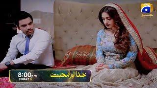 Feroze Khan & Iqra aziz Drama Serial Khuda Aur Muhabbat Episode 22 Teaser Promo Review Mahi & Farhad