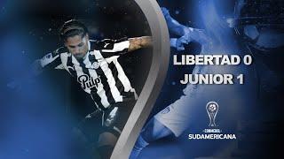 Libertad vs. Junior [0-1] | RESUMEN | Octavos de Final | Vuelta | CONMEBOL Sudamericana 2021