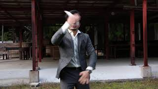 ヒーロ黒木先生 剣護身術 実践02