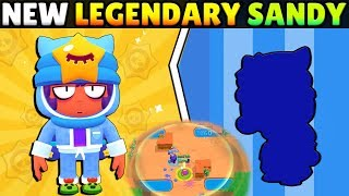 NEW LEGENDARY BRAWLER SANDY! SUPER OP! FULL STATS & GAMEPLAY + 2 NEW GAME MODES!