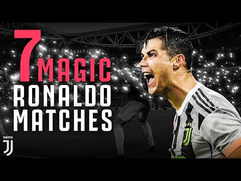 7 Moments of Cristiano Ronaldo Magic at Juventus' Allianz Stadium!