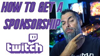 Twitch: How to get a Sponsorship or Partnership