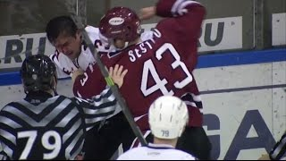 KHL Fight: Sestito VS Kondratyev