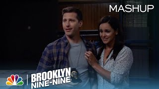 Brooklyn Nine-Nine - Jake and Amy's Love Story in 99 Seconds Mashup