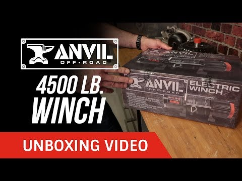 Unboxing: Anvil Off-Road 4500 lb. Winch
