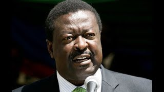 Musalia Mudavadi leads NASA as they hold a rally in Nairobi