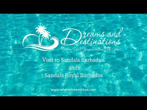 Visit to Sandals Barbados & Sandals Royal Barbados