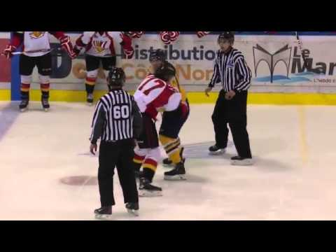 Guillaume Beaudry vs. Olivier Caouette
