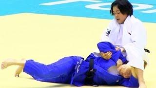 Judoマロイ×出口クリスタ準決柔道グランドスラム東京2013-1129