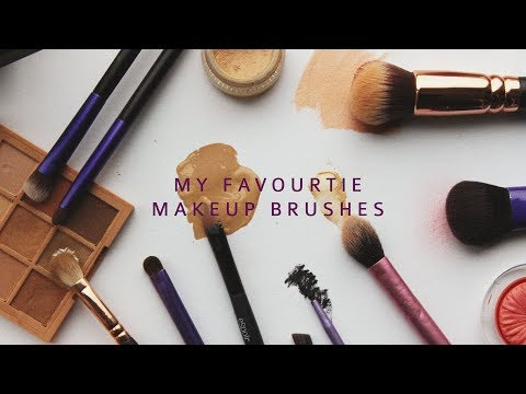 My Favourite Makeup Brushes | Haley Kim